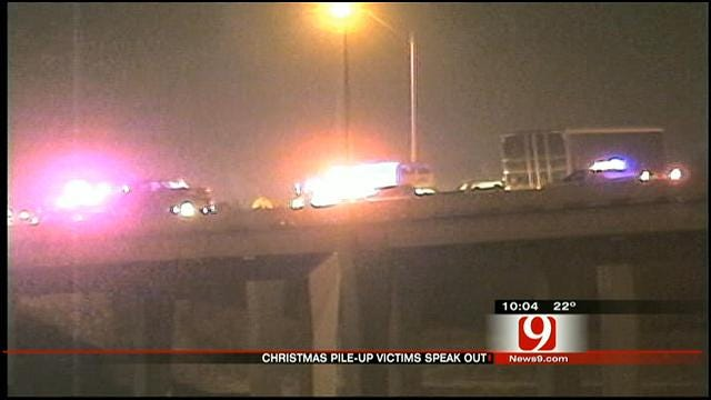 Oklahoma Highway Pile-Up Victims Speak Out