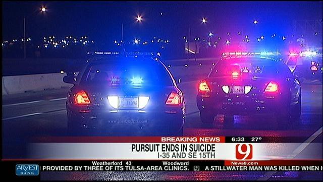 Man Kills Self On I-35 After Shooting Wife's Boyfriend