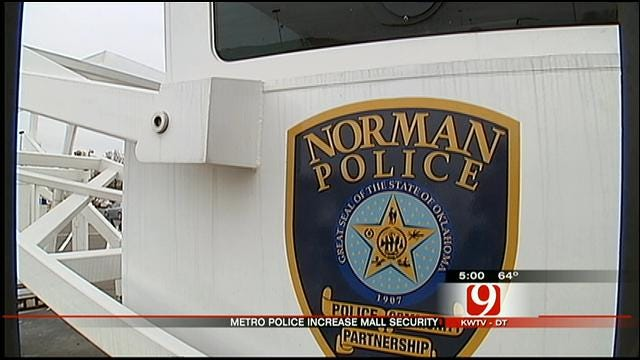 Norman Police Beef Up Security In Busy Shopping Parking Lots