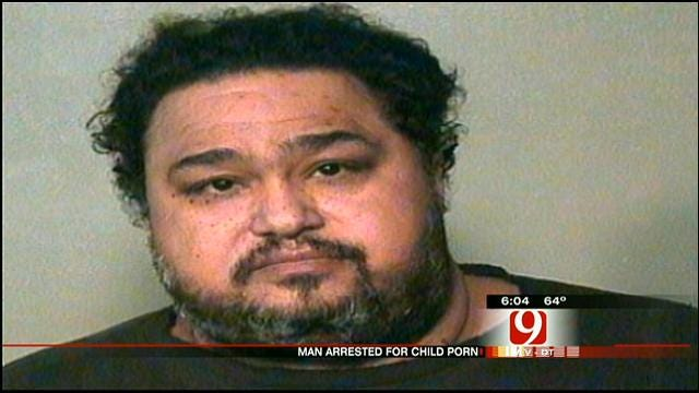 OKC Man Arrested On Multiple Counts Of Child Pornography