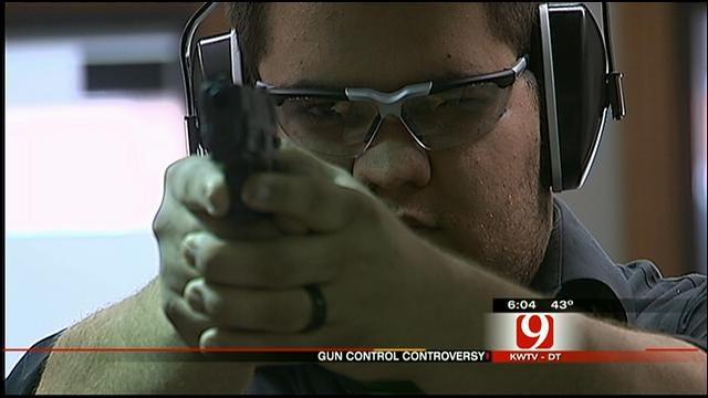 Oklahoma Lawmakers Talk About Gun Control