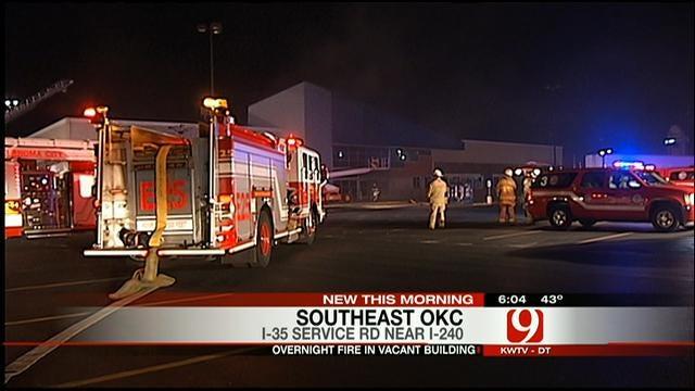 Authorities Investigate Three-Alarm Structure Fire In OKC