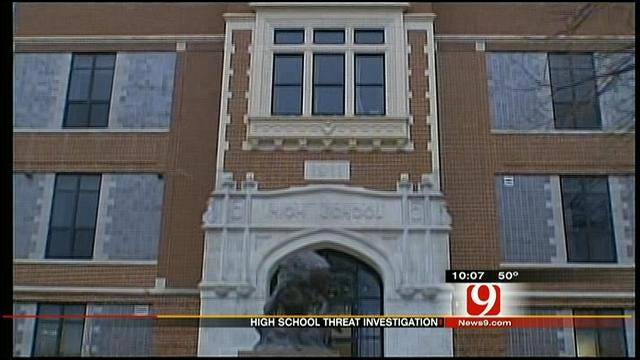 Enid Police Investigate Violent Threats Against High School