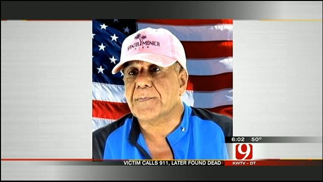 OKC Man Found Dead In Home After Calling 911