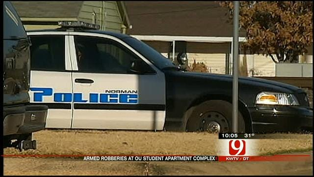 Norman Police Search For Armed Robbers Targeting Students