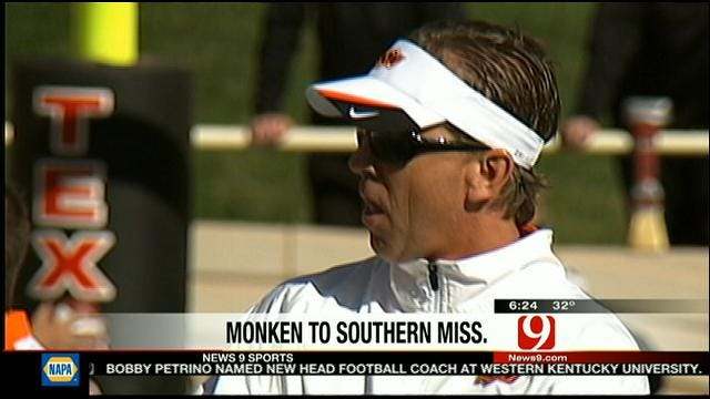 Monken Heading To Southern Miss