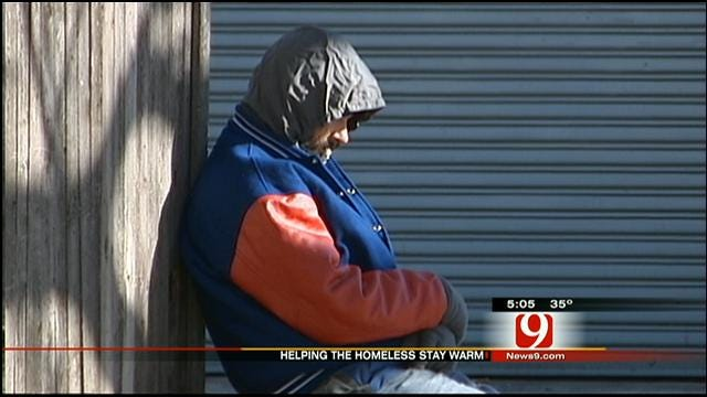 OKC Shelters Help The Homeless Stay Warm During Cold Weather