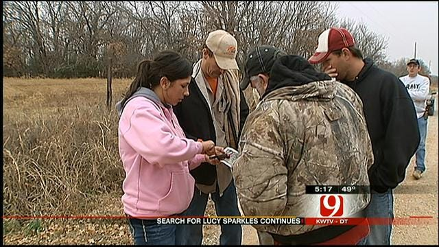 About 50 Volunteers Search For Missing Shawnee Kangaroo Friday