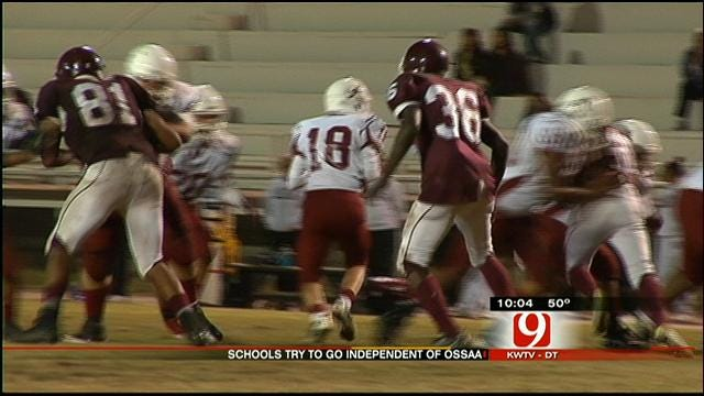 Two OKC High Schools Push OSSAA For Football Independence