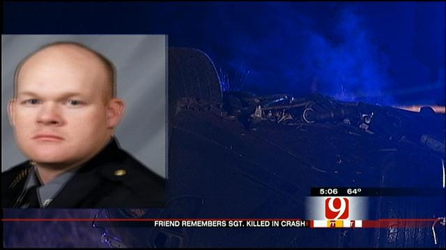 Friend Of OKC Officer Killed In Crash Speaks Out