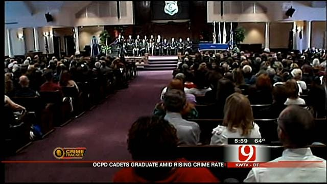 38 OKC Police Department Recruits Graduate During Ceremony