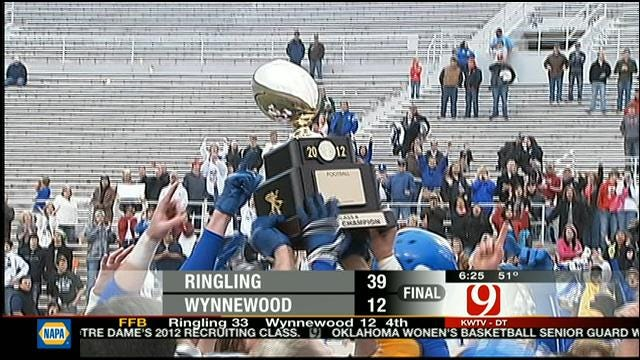 Ringling Tops Wynnewood To Win State Championship
