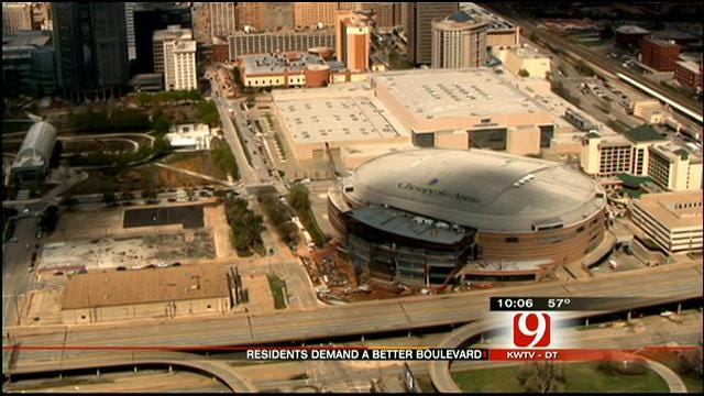 OKC Boulevard To Replace Old Elevated Crosstown