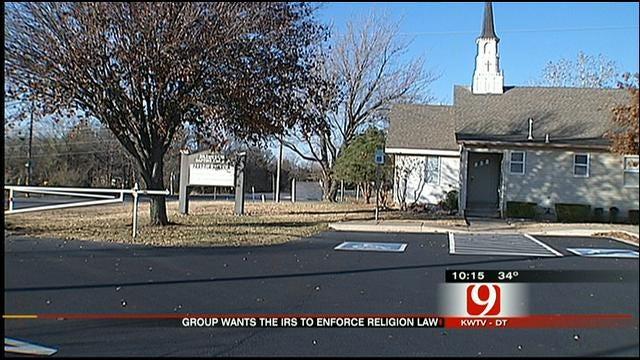 Organization Takes Aim At Oklahoma Churches Endorsing Candidates