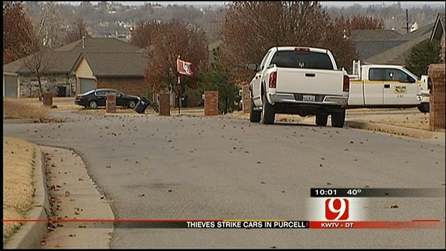 Rash Of Break-Ins Puts Purcell Homeowners On Edge