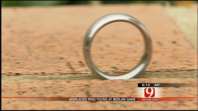 Woman Finds Misplaced Wedding Ring At Bedlam Game