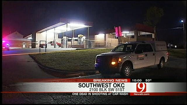 One Killed After Shooting At SW OKC Car Wash
