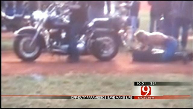 Off-Duty Rescue Workers Save OK Daredevil During Stunt