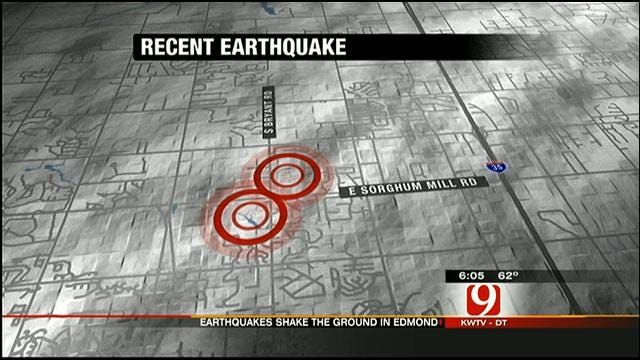 Two Quakes Rattle Central Oklahoma In 13 Hours