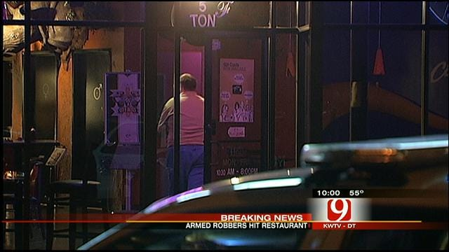 Police Investigate Armed Robbery At NW OKC Restaurant