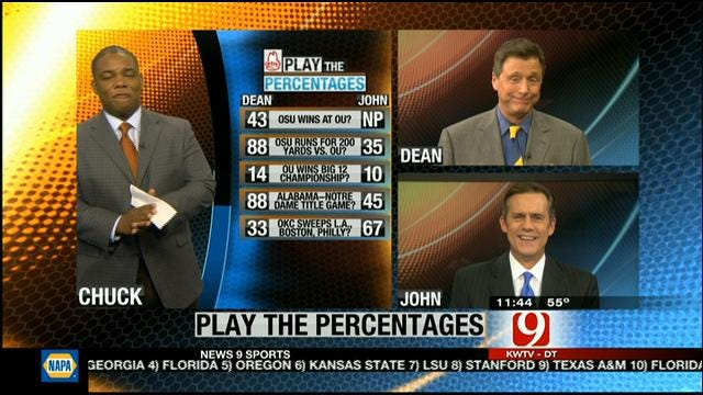 Play The Percentages: November 18