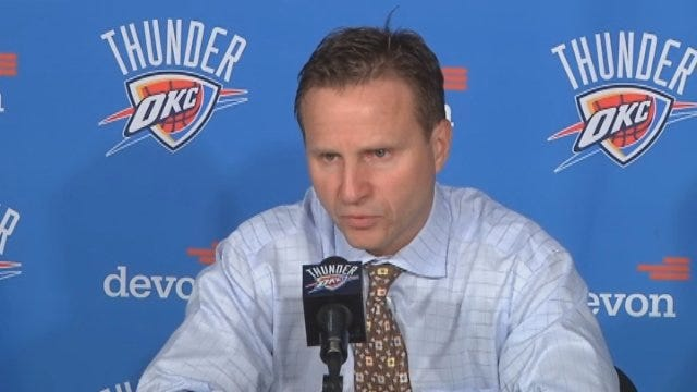 Scott Brooks And Kevin Durant Postgame