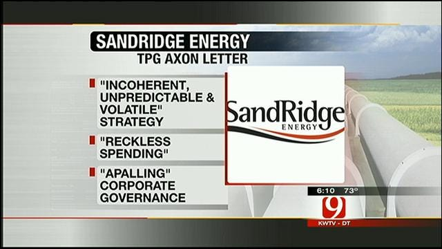Shareholder Calls For Overhaul Of SandRidge Energy Management