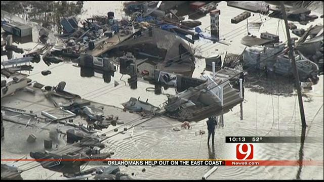 Okies Continue To Help More Than Week Since Sandy Landfall