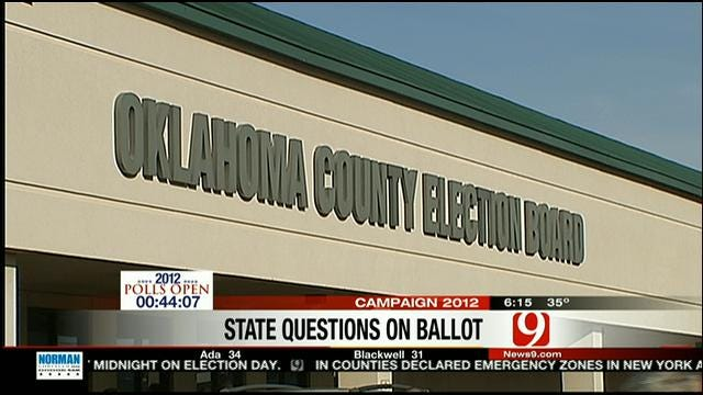 Part 1: News 9 Political Analyst Examines State Questions On Oklahoma Ballot