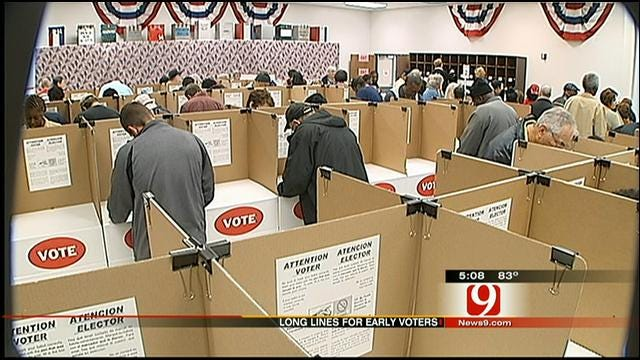 Thousands Cast Early Ballots in Oklahoma County