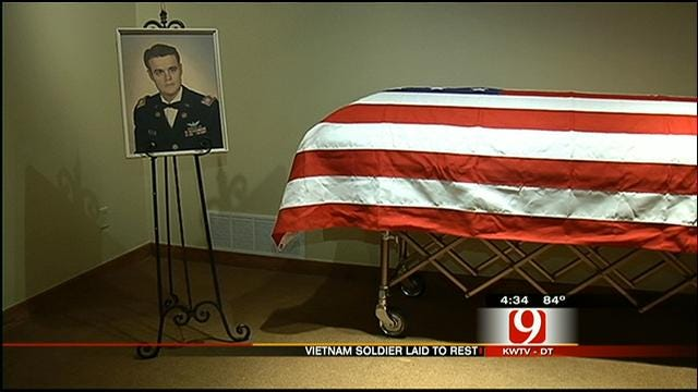Oklahoma Soldier Killed In Vietnam 46 Years Ago Laid To Rest