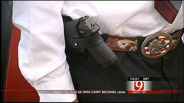 Supporters, Opposition Voice Opinions On OK Open Carry Law