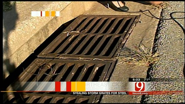 Thieves Swipe Storm Grates In MWC