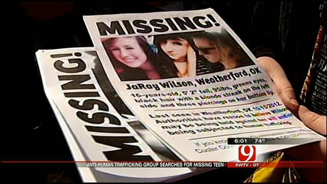 Search For Missing Weatherford Teen Expands To OKC