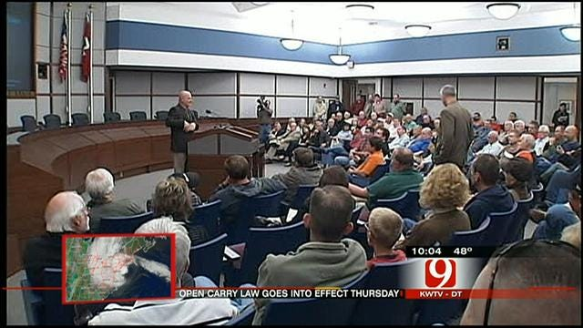 Norman Police Host Public Forum On Open Carry Law