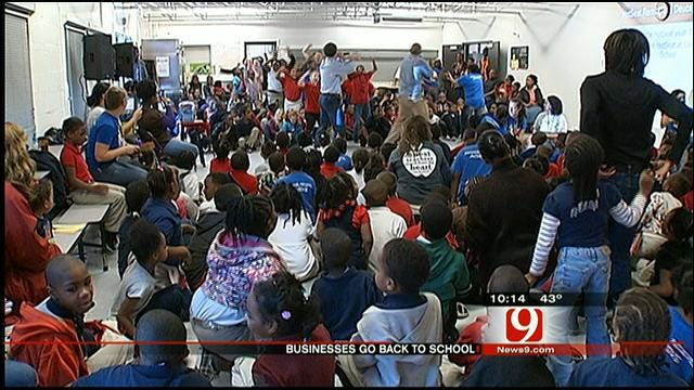Beyond The Bell: Businesses Step Into The Classroom