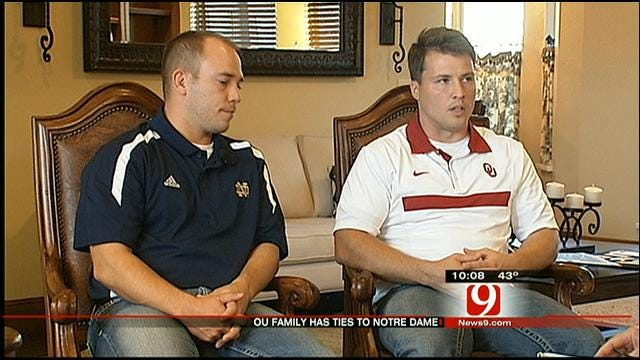 Relatives Of Legendary Notre Dame Coach Hold Ties To Oklahoma