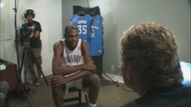 WEB EXTRA: KD On Where He Hangs Out In OKC