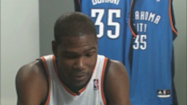 WEB EXTRA: KD Talks About His Move To OKC