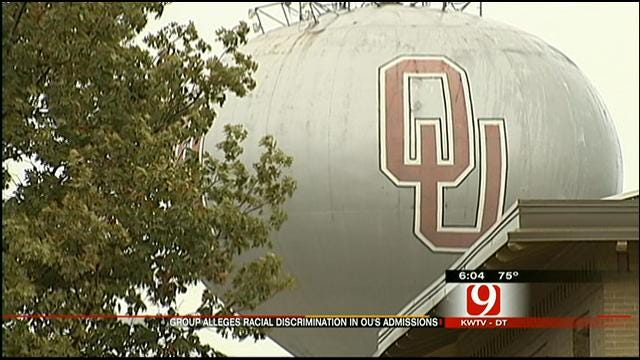 OU Accused Of Racial Discrimination When Admitting Students