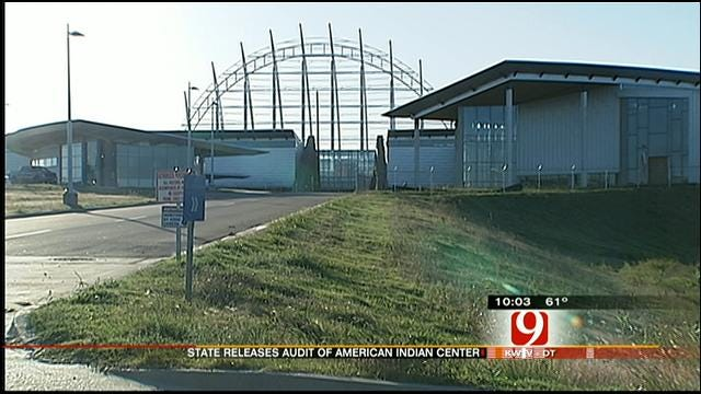 State Audit Released On American Indian Cultural Center, Museum