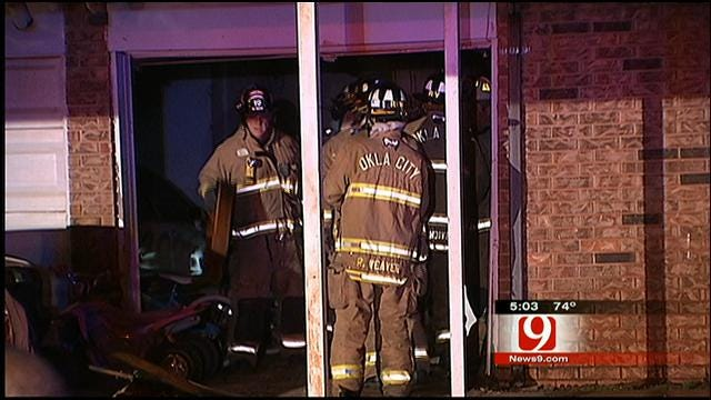 Family Of Six Barely Escapes House Fire In OKC