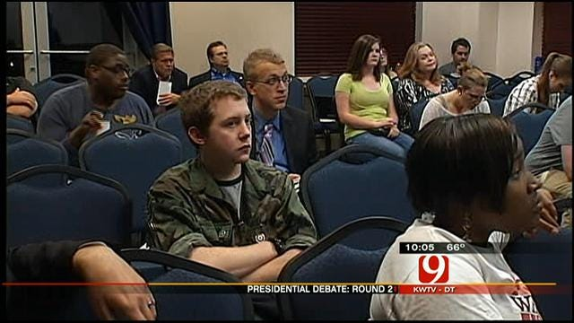 UCO Students Reflect On Second Presidential Debate