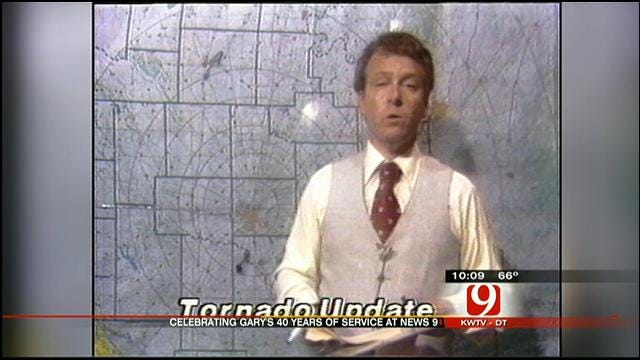 A Look Back At Gary England's 40 Years At News 9