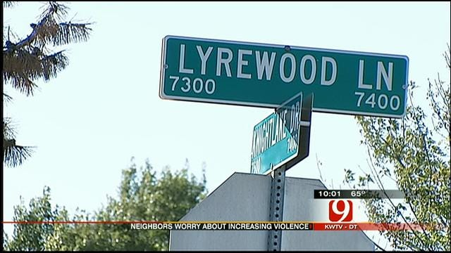 Neighbors In NW OKC Concerned Following Recent Violent Crimes