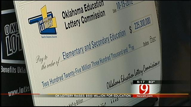 Oklahoma Lottery Raises More Than Half Billion Dollars For Education Programs
