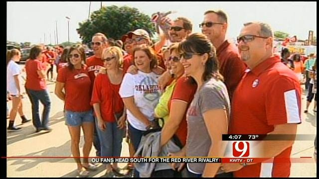 OU Fans Ready To Rumble In Red River Rivalry