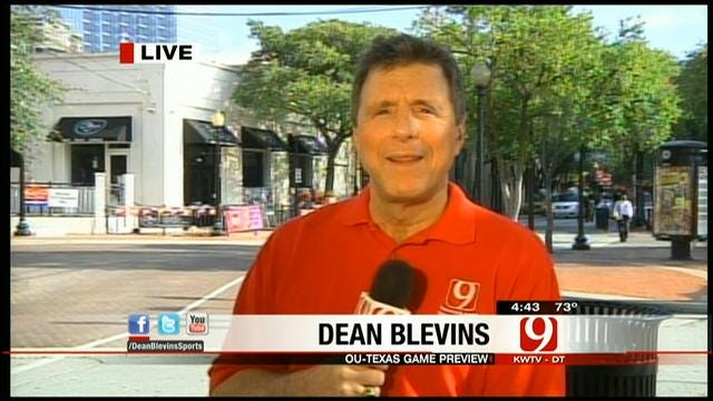 Dean Blevins Previews Red River Rivalry 2012