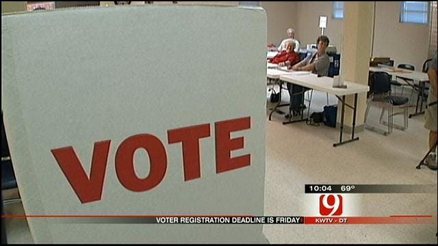 Voter Registration Deadline Approaches With Change