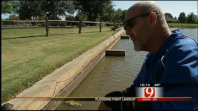 Moore Man Fights City Hall On Flooding Issue